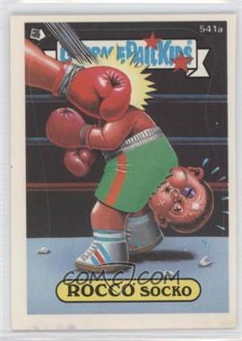 1988 Topps Garbage Pail Kids Series 14 - [Base] #541a.2 - Rocco Socko (Complete Puzzle Back)