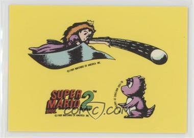 1989 Topps Nintendo - Stickers #4 - Super Mario Bros  2