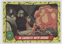 In Cahoots with Krang