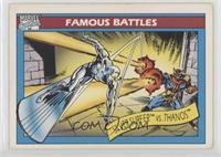 Silver Surfer vs. Thanos