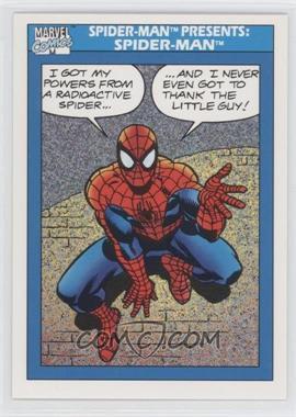 1990 Impel Marvel Comics Super Heroes - [Base] #149 - Spider-Man Presents: Spider-Man