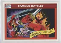 Thor vs. Surtur