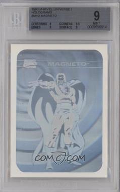 1990 Impel Marvel Comics Super Heroes - Holograms #MH2 - Magneto [BGS9MINT]