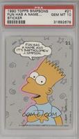 Fun Has a Name, and It's Bartholomew J. Simpson [PSA10]