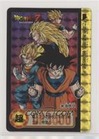 1995 - Goku's Transformations