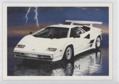 1991 Action Dream Cars 100 Base 90 Lamborghini Comc Card