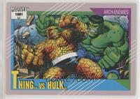 Thing vs Hulk [EXtoNM]