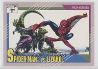 Spider-Man vs Lizard