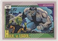 Hulk vs Leader