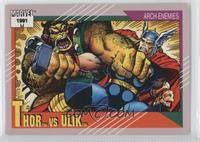 Thor vs Ulik