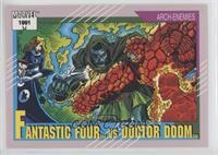 Fantastic Four vs Doctor Doom