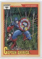 Captain America (1991 Normal Font)