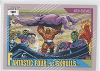 Fantastic Four vs Skrulls