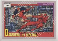 Daredevil vs Elektra