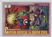 Captain America vs Baron Zemo