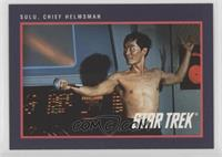 Sulu, Chief Helmsman