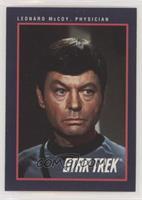 Leonard McCoy, Physician
