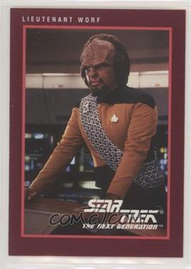1991 Impel Star Trek 25th Anniversary - [Base] #110 - Lieutenant Worf