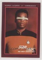 Geordi LaForge, Lt. Commander