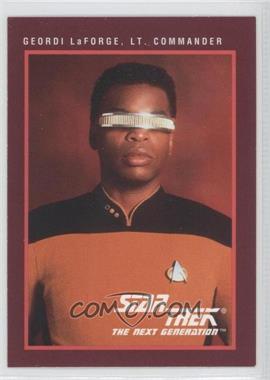 1991 Impel Star Trek 25th Anniversary - [Base] #112 - Geordi LaForge, Lt. Commander
