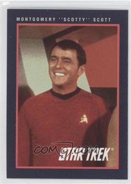"1991 Impel Star Trek 25th Anniversary - [Base] #121 - Montgomery ""Scotty"" Scott"