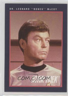 "1991 Impel Star Trek 25th Anniversary - [Base] #123 - Dr. Leonard ""Bones"" McCoy"