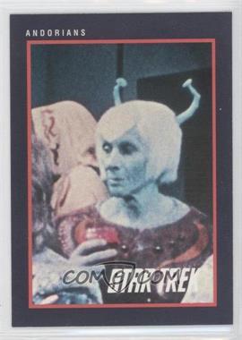 1991 Impel Star Trek 25th Anniversary - [Base] #125 - Andorians