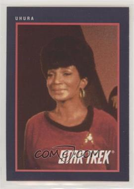 1991 Impel Star Trek 25th Anniversary - [Base] #127 - Uhura