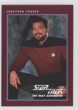 1991 Impel Star Trek 25th Anniversary - [Base] #132 - Jonathan Frakes