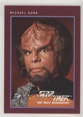 1991 Impel Star Trek 25th Anniversary - [Base] #134 - Michael Dorn