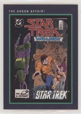 1991 Impel Star Trek 25th Anniversary - [Base] #135 - The Argon Affair!
