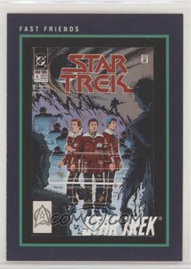 1991 Impel Star Trek 25th Anniversary - [Base] #137 - Fast Friends