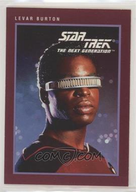 1991 Impel Star Trek 25th Anniversary - [Base] #138 - Levar Burton