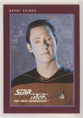 1991 Impel Star Trek 25th Anniversary - [Base] #140 - Brent Spiner