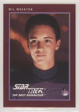 1991 Impel Star Trek 25th Anniversary - [Base] #142 - Wil Wheaton