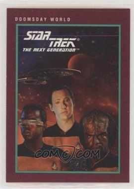 1991 Impel Star Trek 25th Anniversary - [Base] #146 - Doomsday World