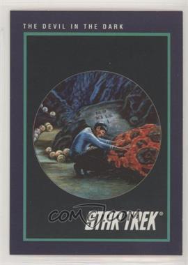 1991 Impel Star Trek 25th Anniversary - [Base] #151 - The Devil in the Dark