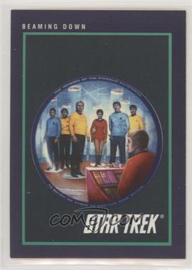 1991 Impel Star Trek 25th Anniversary - [Base] #153 - Beaming Down