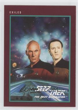 1991 Impel Star Trek 25th Anniversary - [Base] #158 - Exiles