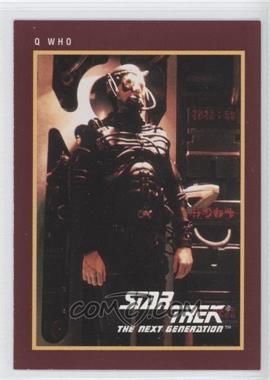 1991 Impel Star Trek 25th Anniversary - [Base] #162 - Q Who