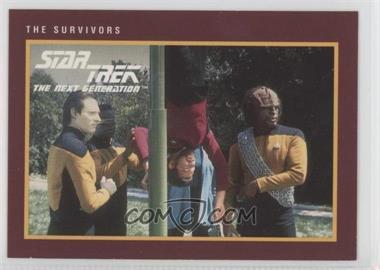 1991 Impel Star Trek 25th Anniversary - [Base] #180 - The Survivors