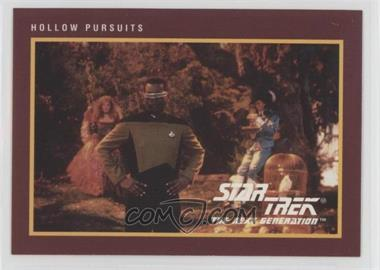 1991 Impel Star Trek 25th Anniversary - [Base] #216 - Hollow Pursuits
