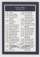 Star Trek Checklist