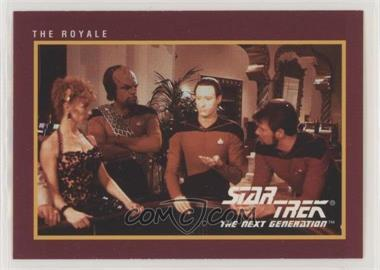 1991 Impel Star Trek 25th Anniversary - [Base] #72 - The Royale