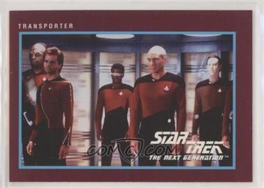 1991 Impel Star Trek 25th Anniversary - [Base] #98 - Transporter