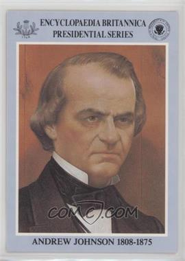 1991 Publishers Clearing House President's Club - [Base] #17 - Andrew Johnson