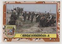Iraqis Surrender-A