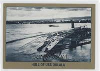 Hull of USS Oglala