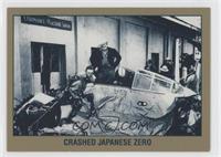 Crashed Japanese Zero