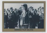Kamikaze Pilot Salutes